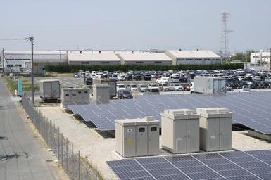 某袋井太陽光発電所