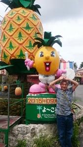 名護パイナップルパークに行ってきました。