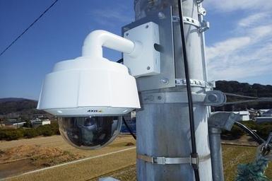 釣橋川総合流域防災事業                        河川監視Webカメラ設置工事