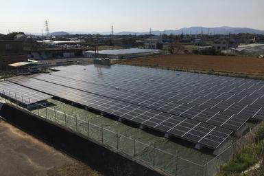 とぴあ浜松農業協同組合                       花川太陽光発電所