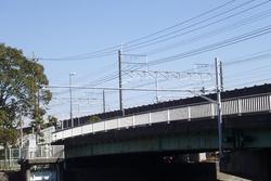 二級河川馬込川松江水位局