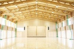 静岡県立西部特別支援学校体育館