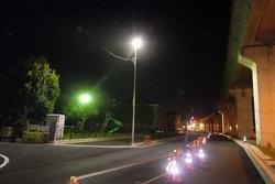 有玉南町中田島線照明灯