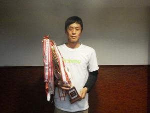 優勝者 有谷大輔