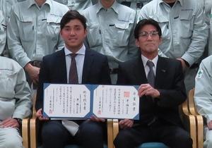 ニコラスさんと小澤社長