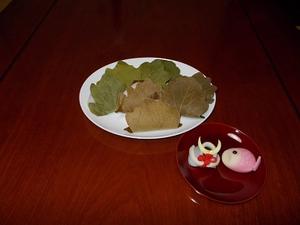 上生菓子・柏餅 BY 春華堂