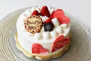 春華堂さん自慢の<br />      ケーキの王様<br />      いちごダブル<br />    デコレーションケーキ